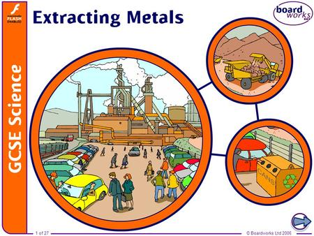 Boardworks GCSE Science: Chemistry Extracting Metals