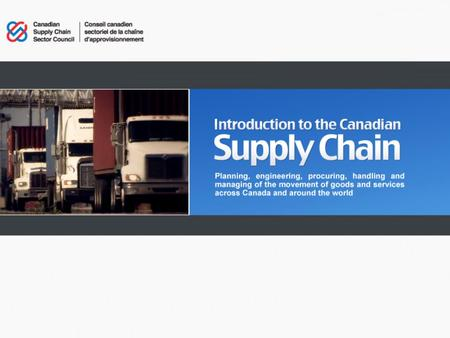 Supply Chain 101 – July 2010.