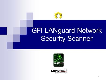1 GFI LANguard Network Security Scanner. 2 Contents Introduction Features Source & Installation Testing environment Results Conclusion.