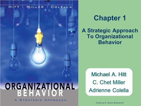 A Strategic Approach To Organizational Behavior