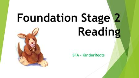Foundation Stage 2 Reading