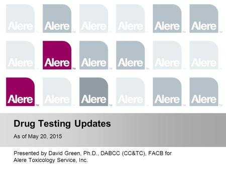Overview of Drug Testing Process
