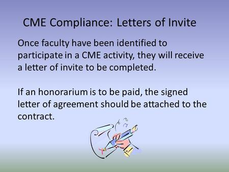 where is the conflict of interest in this cme relationship