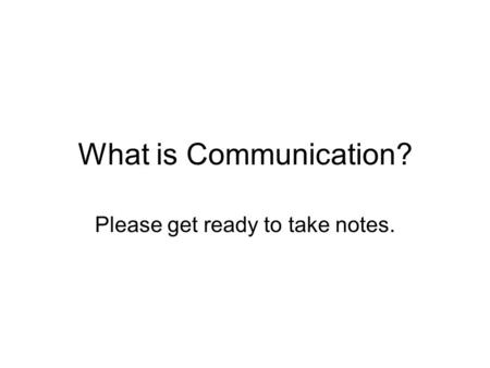 transactional model of communication pdf
