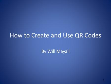 How to Create and Use QR Codes By Will Mayall 1. Use the Market App Click on the Market App on your smart phone. Search for QR Code Scanner. I like to.
