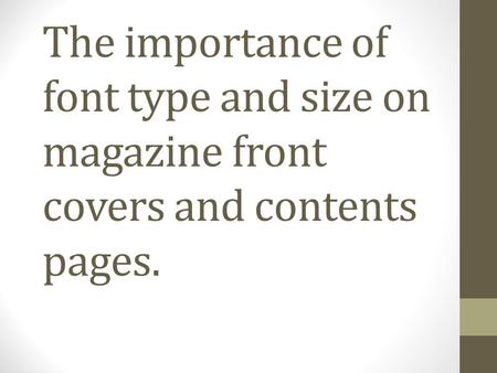 DEFINITION A font is a particular size, weight and style of a typeface. For example, Comic Sans MS, Impact and Calibri.