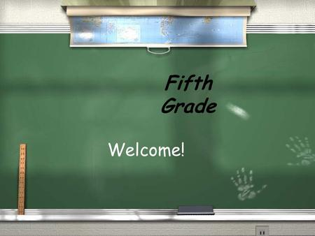 Fifth Grade Welcome!. Goals for fifth grade students Students will respect the spirit of God within themselves and others. Students will continue to grow.