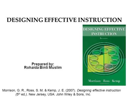 Connecting The Dots Among Instructional Design Instructional Technology Distance Learning Instructional Design Theories Models And Strategies Edid Ppt Download