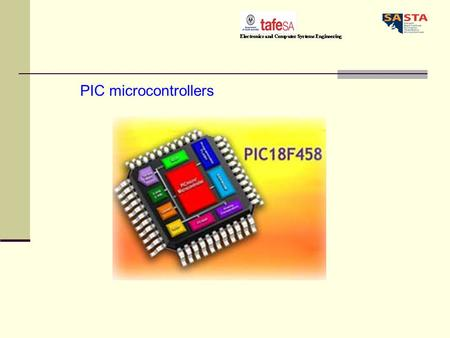 PIC microcontrollers. PIC microcontrollers come in a wide range of packages from small chips with only 8 pins and 512 words of memory all the way up to.