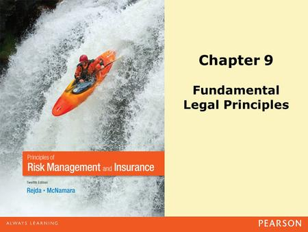 Chapter 9 Fundamental Legal Principles