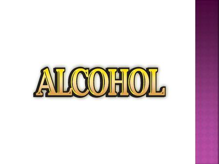 Why is alcohol considered a drug?
