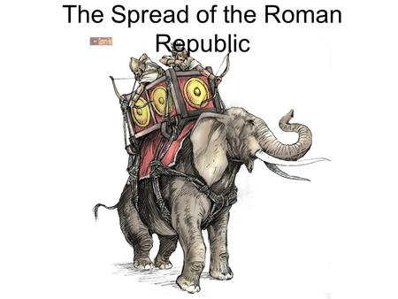 The Spread of the Roman Republic. The Spread of Roman Power Roman legions fight to expand the empire –Controlled central Italy by 390 BC Were defeated.