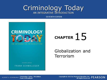 15 Globalization and Terrorism.