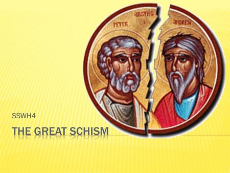 SSWH4.  As the Christian church grew throughout the Roman world, the challenges the church faced changed:  Church leaders became politically powerful.