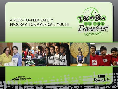 A PEER-TO-PEER SAFETY PROGRAM FOR AMERICA'S YOUTH.