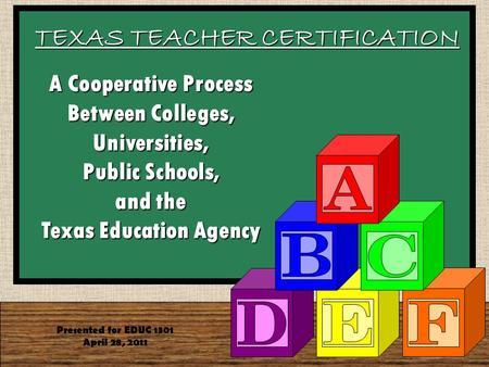 Texas Woman\'s University Master of Arts in Teaching Next Slide MAT ...