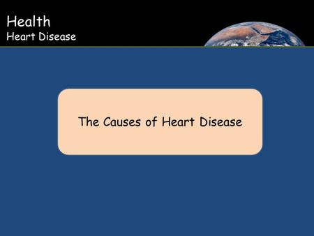 Health Heart Disease The Causes of Heart Disease.