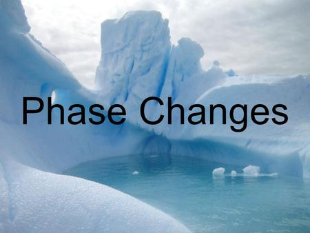 Phase Changes. What are Some Characteristics of Solids? Have a fixed shape and volume in this state. Not easily compressible because there is very little.