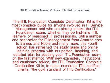 Itil Rcv Study Guide - iananovak.com
