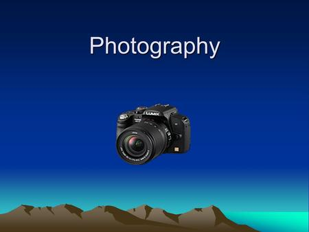 Photography. Photography Photography is the process of recording pictures by means of capturing light on a light- sensitive medium, such as a film or.