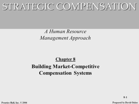 Building strategic compensation systems esonic example project