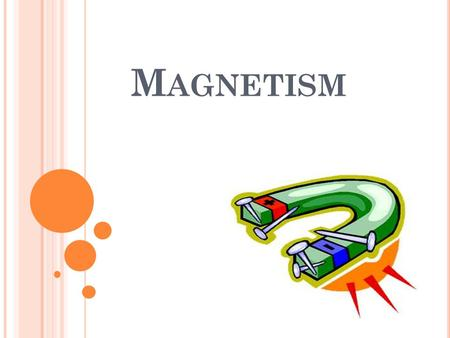 M AGNETISM. L EARNING O BJECTIVES At the end of the lesson, the students should be able to: Define a magnet State that a magnet has two poles State the.