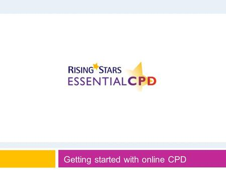 Getting started with online CPD. Concentrating on teacher practice is the most effective way to make a difference to student achievement, as we can't.