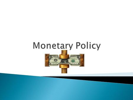  The Bank of Canada is in charge of all money supply. ◦ Regulates the amount of money in the system.