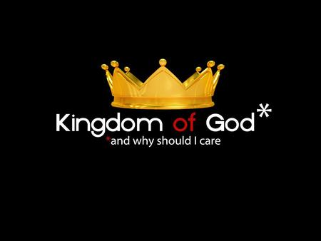 THE FINAL CHAPTER OF THE KINGDOM OF GOD There are other things we won't receive until Jesus returns: