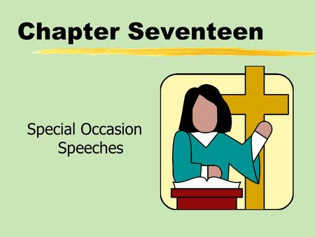 Special Occasion Speeches