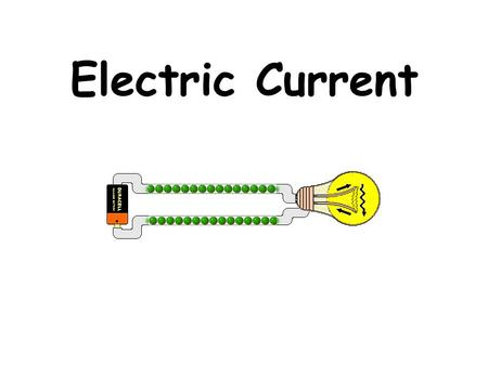 Electric Current. Electric current Electric current is the rate of electron flow past a specific point in the circuit (how fast electrons pass through.