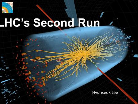 LHC's Second Run Hyunseok Lee 1. 2 ■ Discovery of the Higgs particle.