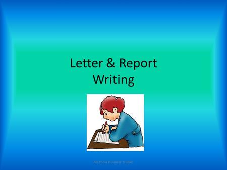 report writing for business studies Report writing is a skill that should be mastered by all business studies students application of the skills and techniques shown in this book should enable all students to successfully structure business reports.