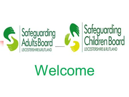 Welcome. Suspicion, Disclosure and Discovery Helen Edwards Independent Safeguarding Advisor.