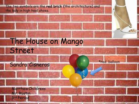 the house on mango street physical elements