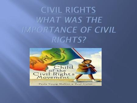  What would the Civil Rights Movement be without the brave men and women who fought for equal rights? These leaders dedicated their lives to ending slavery,