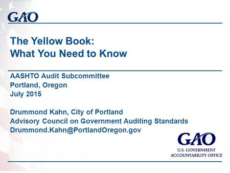 The Yellow Book: What You Need to Know