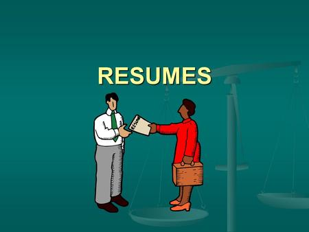 RESUMES. PURPOSE To communicate your ability to successfully perform meaningful work in a way that creates immediate interest for potential employers.