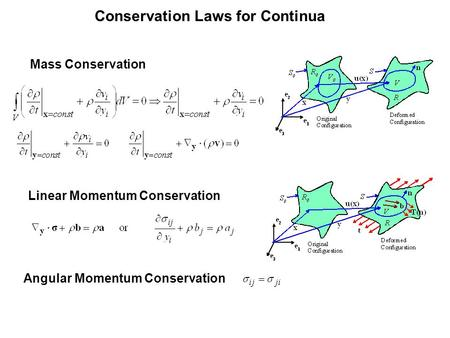 Conservation Laws for Continua