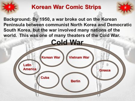 Korean War Comic Strips