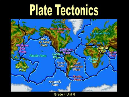 Grade 4 Unit 8. Topics Covered: Parts of the earth Heat transfer and crustal plates Tectonic plates Divergent, Convergent, & Transform Boundaries Hot.
