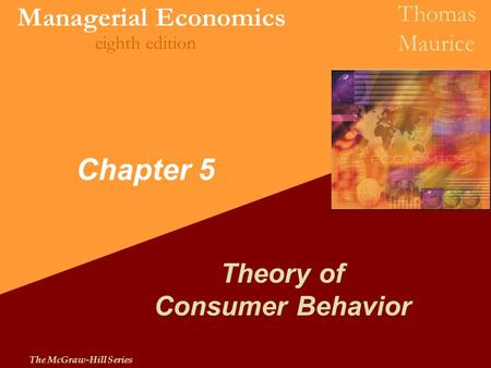 Theory of Consumer Behavior
