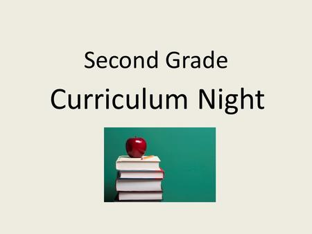 Welcome to Second Grade Curriculum Night! Piney Grove Elementary ...