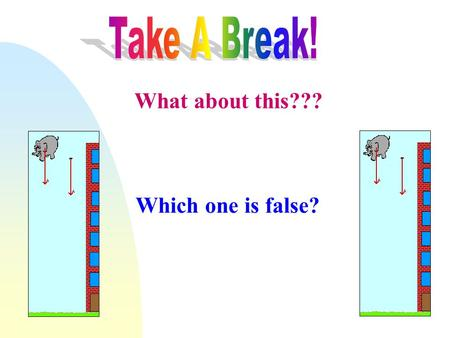 What about this??? Which one is false?. Aim & Throw where????