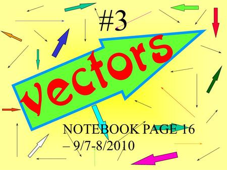 #3 NOTEBOOK PAGE 16 – 9/7-8/2010. Page 16 & 17 17 16 Geometry & Trigonometry P19 #2 P19 # 4 P20 #5 P20 # 7 Wed 9/8 Tue 9/7 Problem Workbook. Write questions!