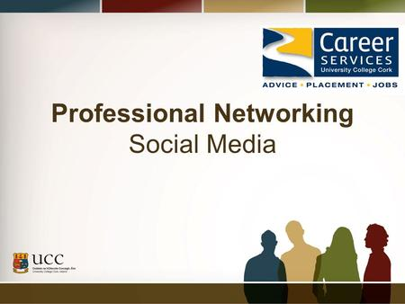 Professional Networking Social Media. Session Overview Why online networking? Popular and useful Social Media What next?
