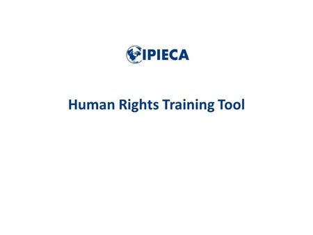 Human Rights Training Tool. Develop a better understanding of the corporate responsibility to respect human rights relevant for the oil and gas industry.