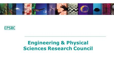 Engineering & Physical Sciences Research Council.