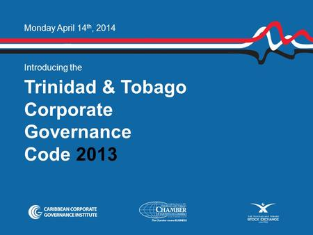 Trinidad & Tobago Corporate Governance Code 2013
