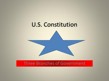 Three Branches of Government Legislative Branch  Writes laws  Approves treaties  Grants money  Declares war  Confirms presidential appointments.
